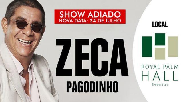 """24.07 - Zeca Pagodinho na Red Eventos, """"Mais Feliz"""""""