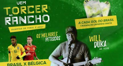 06.07 - Rancho Fontana | Brasil x Bélgica