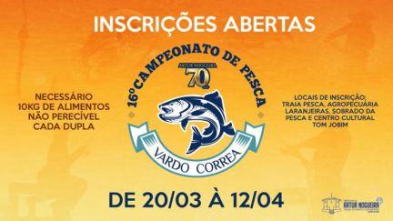 14.04 - Campeonato de Pesca