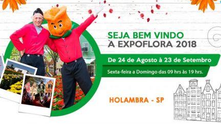 24.08 a 23.09 - Expoflora 2018