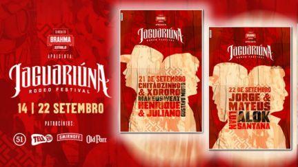 21 e 22.09 | Jaguariúna Rodeo Festival 2018 Segunda Semana