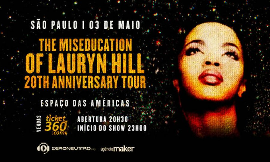 "03.05 - Lauryn Hill ""20th Anniversary Tour"""