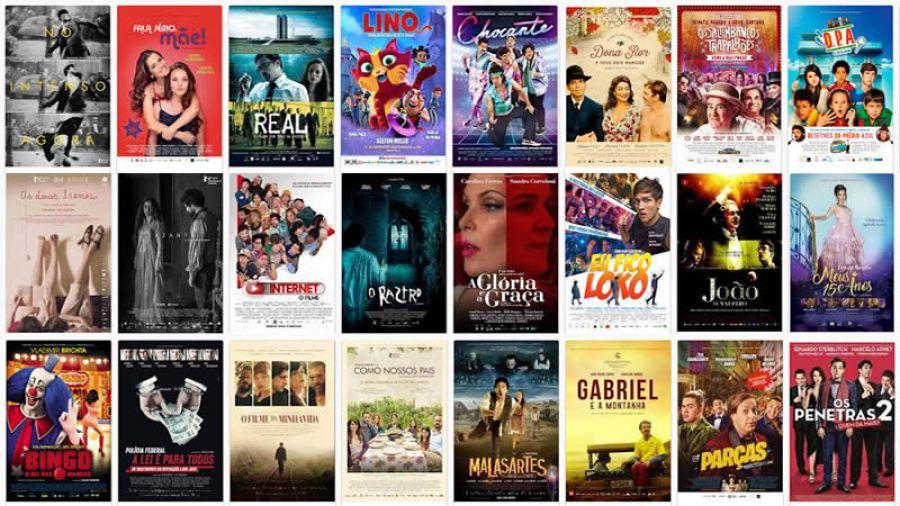 Lançamentos de filmes brasileiros bate recorde em 2017