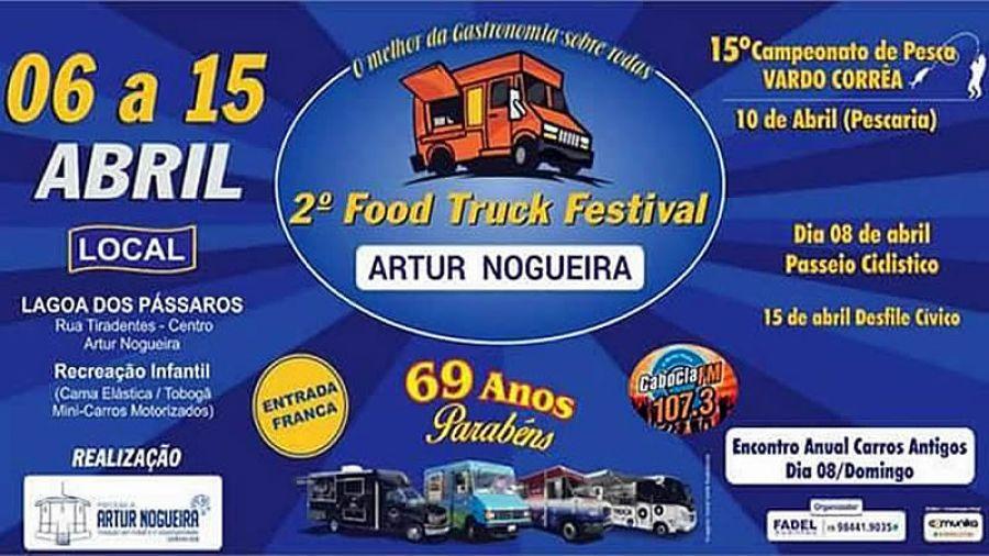 Artur Nogueira 69 Anos - 2º Food Truck Festival