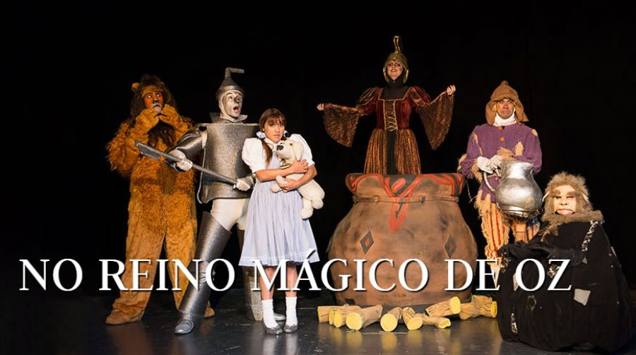 Teatro Infantil | No Reino Mágico de Oz