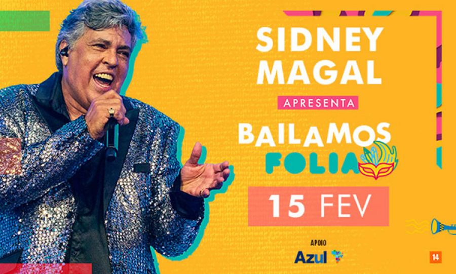 "15.02 - Sidney Magal em ""Bailamos Folia"""