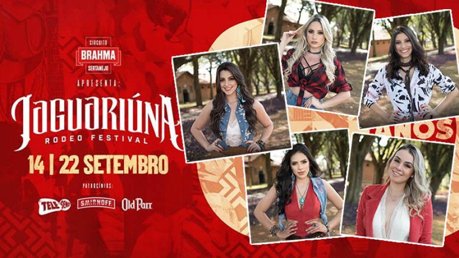 JRF 2018 - Finalistas Rainha do Rodeio