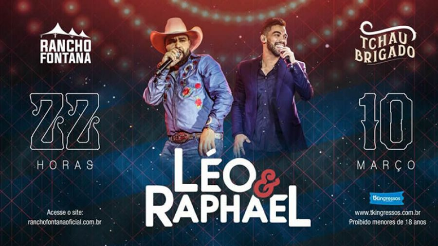 10.03 - Ranho Fontana apresenta Léo & Raphael