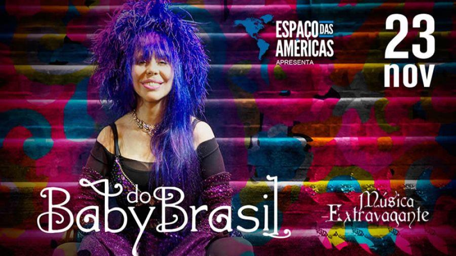 23.11 - Baby do Brasil no Espaço das Américas