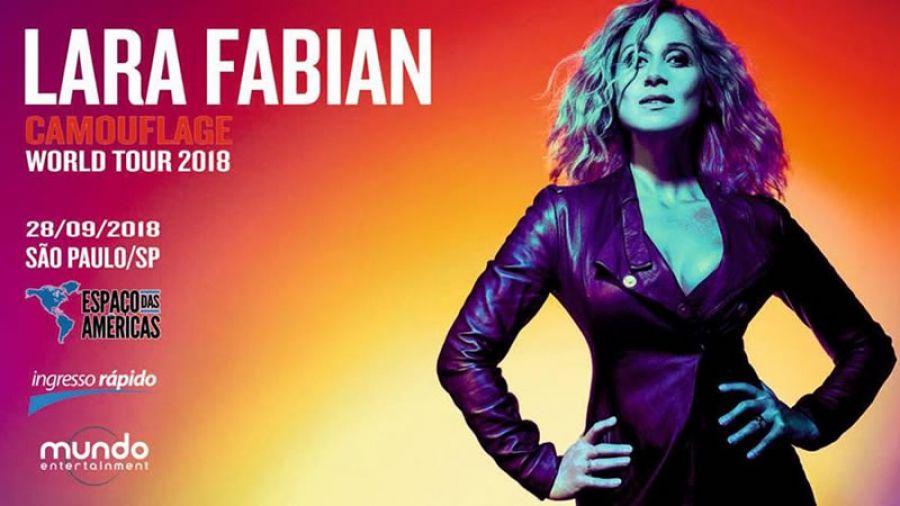 28.09 - Espaço das Américas | Lara Fabian