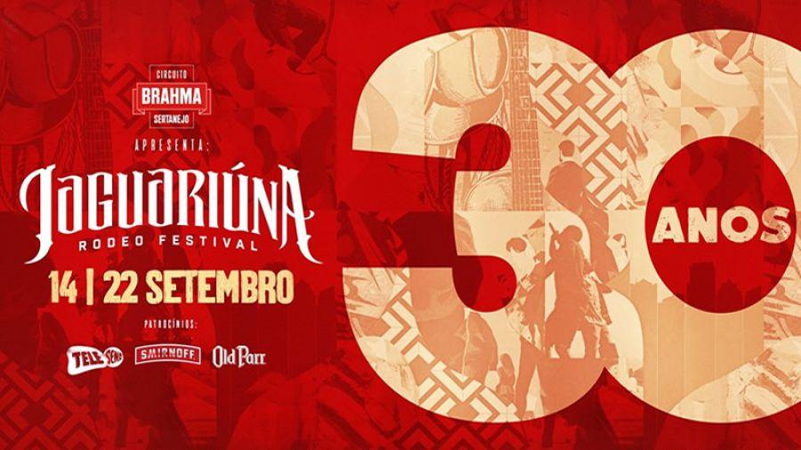 14 a 22.09 - Jaguariúna Rodeo Festival 2018