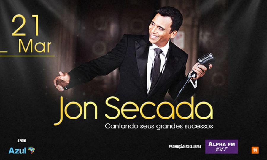 21.03 - Jon Secada no Espaço das Américas