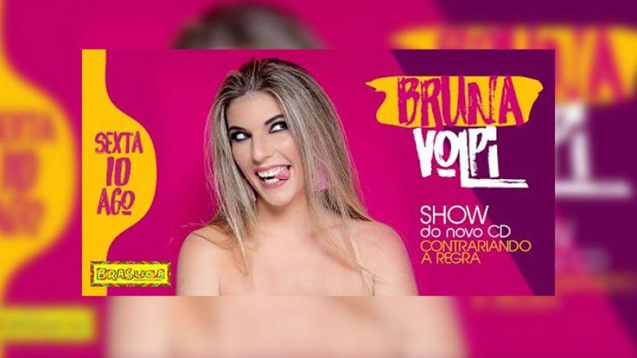 Bruna Volpi no  Brasuca Bar Campinas
