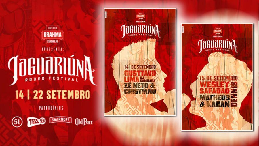 14 e 15.09 - Jaguariúna Rodeo Festival 2018 Primeira Semana
